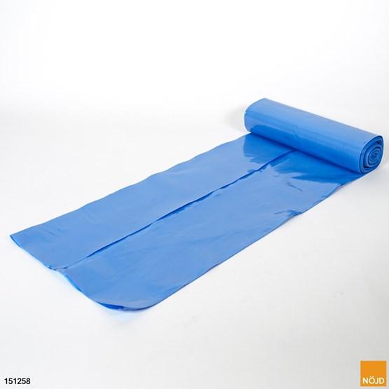 Sopsäck 125 L, Blå