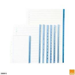 Pärmregister papper 1-12