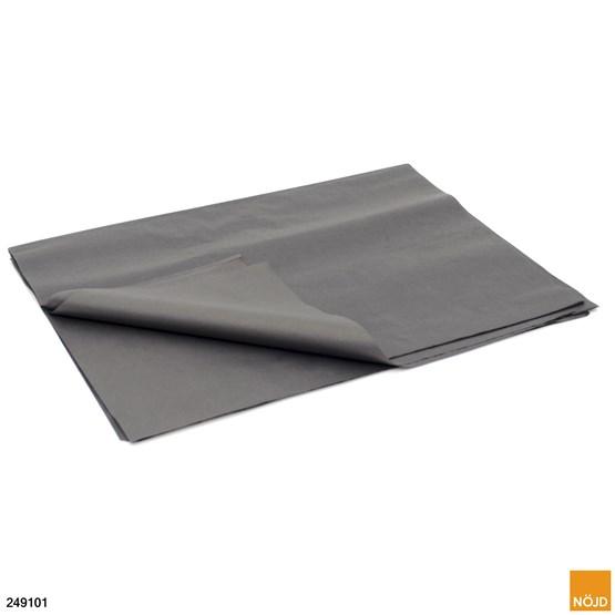 Silkespapper Svart, 50 x 75 cm