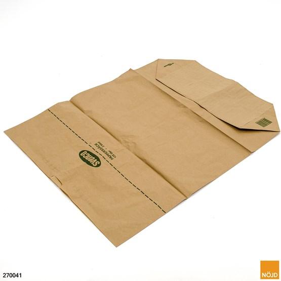Pappersäck 125 liter 2-bladig