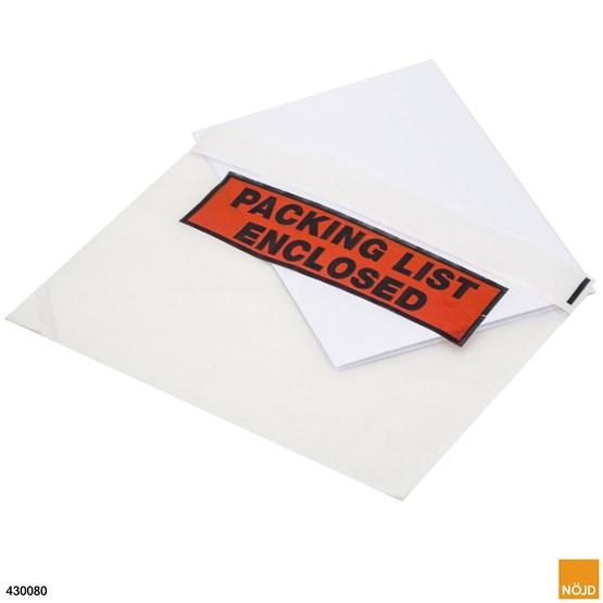 Packsedel C5 - Tryckt