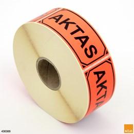 "Etikett ""Aktas"""