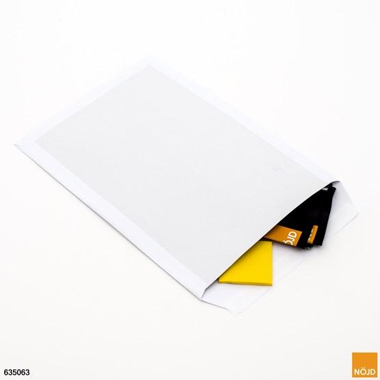 Pappryggpåse  E3 vit
