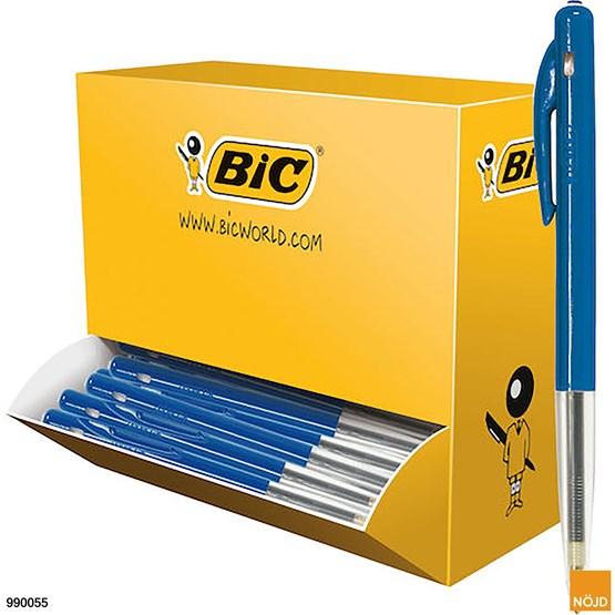 Kulpenna Bic Clic Blå